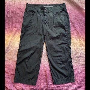 Christopher Blue Black Capri Pants